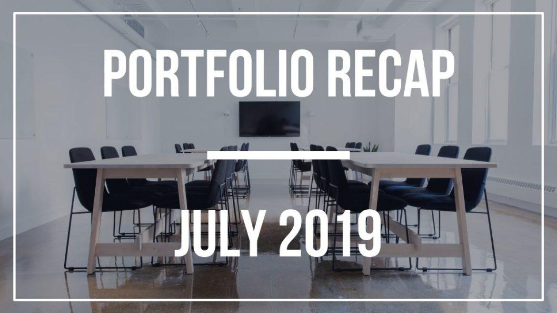 Portfolio Recap – July 2019